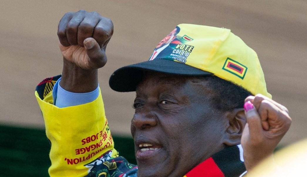 Emmerson Mnangagwa, gana elecciones presidenciales de Zimbabue