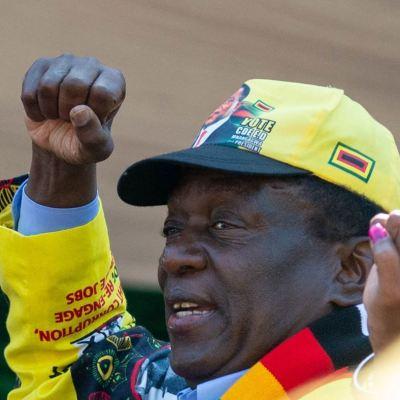 Emmerson Mnangagwa gana elecciones presidenciales de Zimbabue