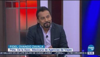 Agenda Discapacidad Turismo Personas Discapacidad Fidel Ovando Zavala, Presidente De La Asociación Mexicana De Agencias De Viajes Turismo Para Personas Con Discapacidad