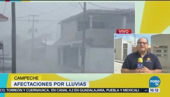 Seis Municipios Campeche Afectados Intensas Lluvias