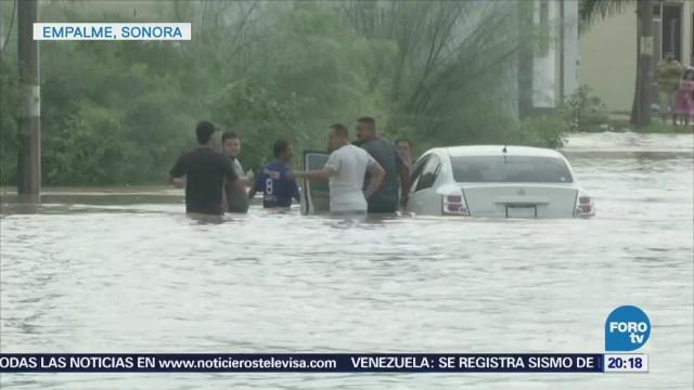 Problemas sanitarios tras desbordamiento de presa en Sonora