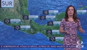 Pronostican tormentas fuertes Chihuahua, Durango y Sinaloa