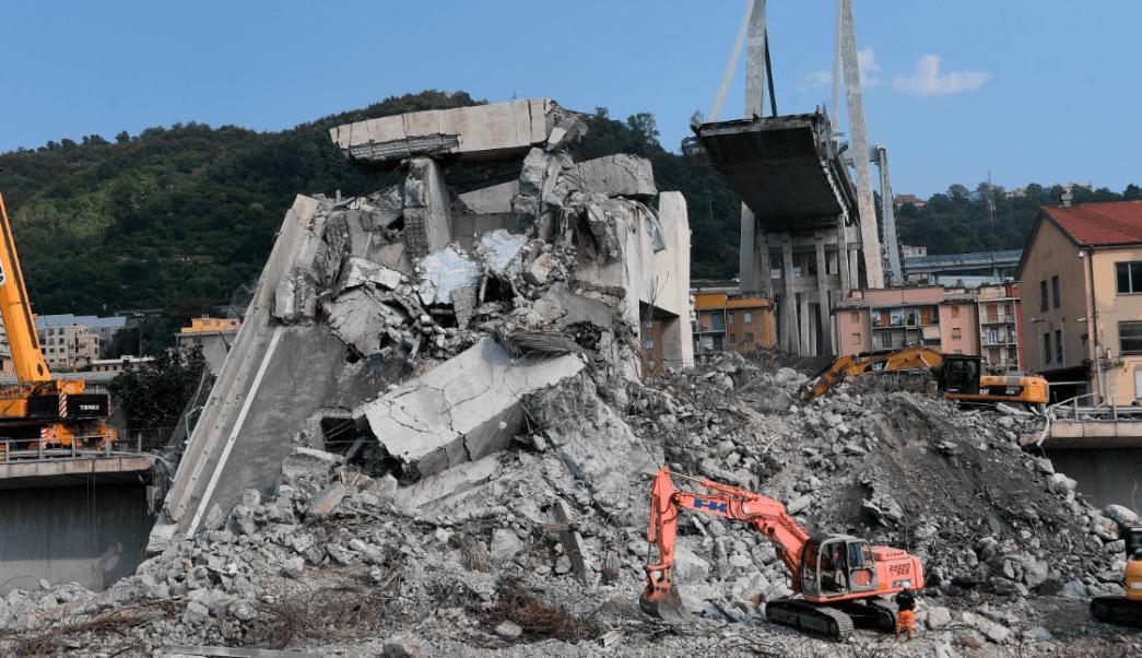 Puente derrumbado en Génova necesitaba mantenimiento