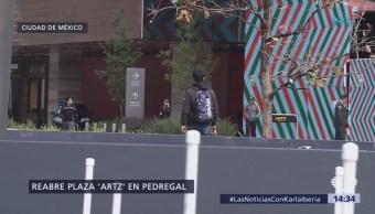 Reabren Plaza Artz, al sur de la CDMX