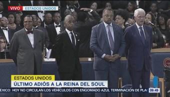 Realizan ceremonia fúnebre a Aretha Franklin en Detroit