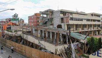 Remoción de escombros en colegio Rébsamen iniciará el lunes