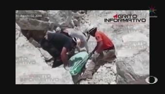 Recuperan Cuerpos Cinco Personas Derrumbe Mina Hidalgo