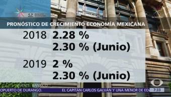 Reducen pronóstico de crecimiento económico para México