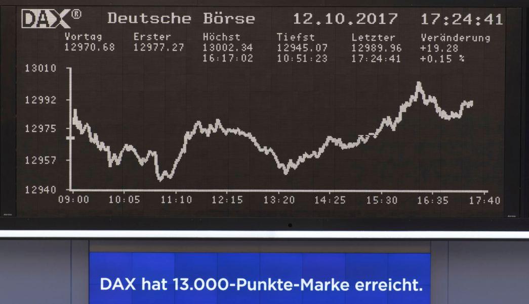 Repuntan Bolsas de Europa, DAX alemán registra alza marginal