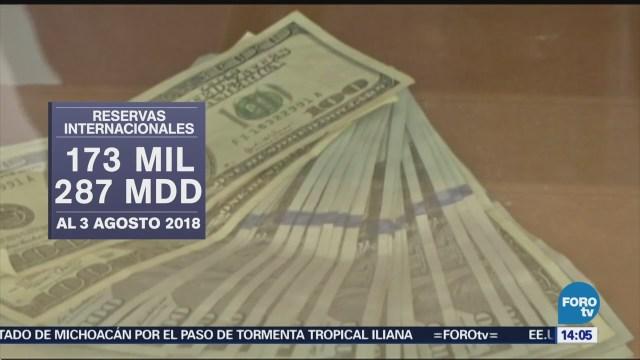 Reservas Internacionales Banxico Aumentan 49 Mdd