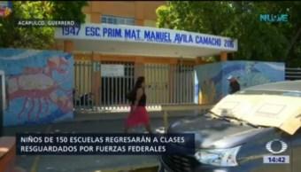 Resguardará Escuelas Acapulco Guerrero Violencia