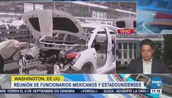 Reunión de funcionarios mexicanos y estadounidenses TLCAN