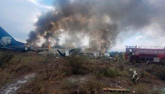 pasajero difunde video accidente avion aeromexico durango