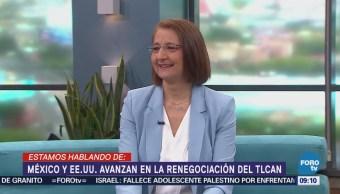 México y EU avanzan en la renegociación del TLCAN