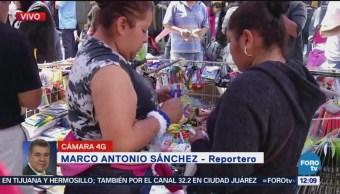 Compras Última Hora Útiles Escolares Cdmx Cientos de Padres Mesones Centro Histórico Ciudad de México