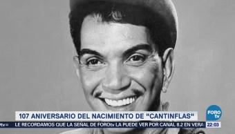 107 años del nacimiento de 'Cantinflas'