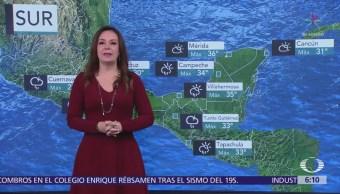 Se pronostican lluvias aisladas Baja California y Nuevo León