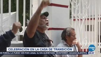 Simpatizantes Celebran Nombramiento López Obrador Presidente