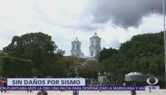 Sismo en Guerrero no provocó daños