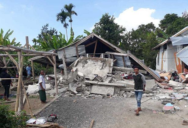 Sismo magnitud 7 sacude isla de Lombok en Indonesia