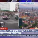 Sismo no afecta actividades en la CDMX