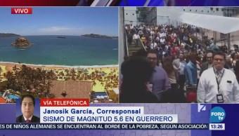 Sismo se sintió en varias regiones de Guerrero