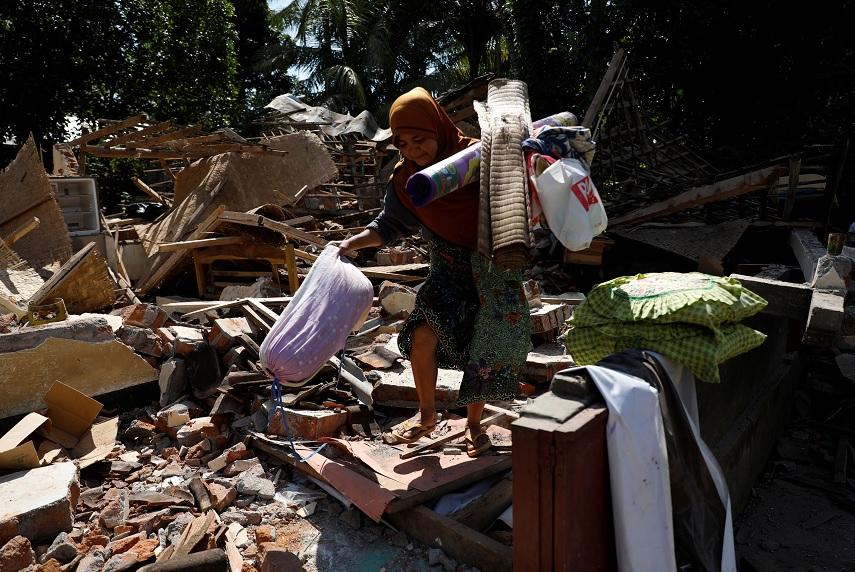 Un nuevo terremoto desata el pánico en la isla de Lombok