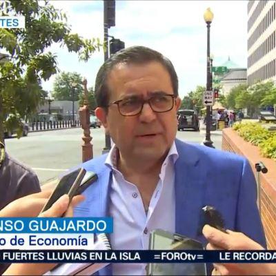 Guajardo y Videgaray se reúnen en EU para tratar TLCAN