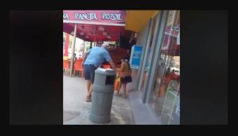 Sujeto arroja ácido contra niña indígena en Cancún
