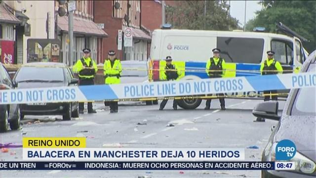 Video Tiroteo Manchester Heridos Reino Unido