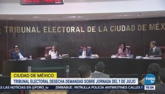 Tribunal Electoral Cdmx Resuelve Primeros Juicios