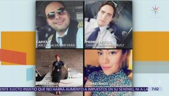 Tripulantes del avión de Aeroméxico salvaron vidas