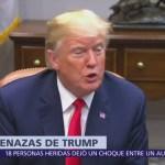 Trump amenaza con retirar a Estados Unidos de la OMC