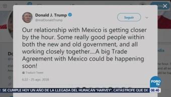 Trump Podría Acuerdo Comercial México