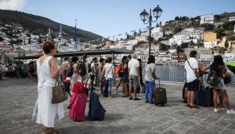 Apagón en Grecia genera alerta en la isla de Hidra