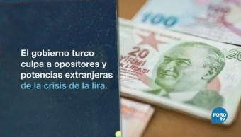 Turquía Aprietos Económicos Desploma Lira Economía Global