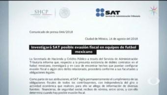 SAT Investiga Equipos Futbol Mexicano Liga MX