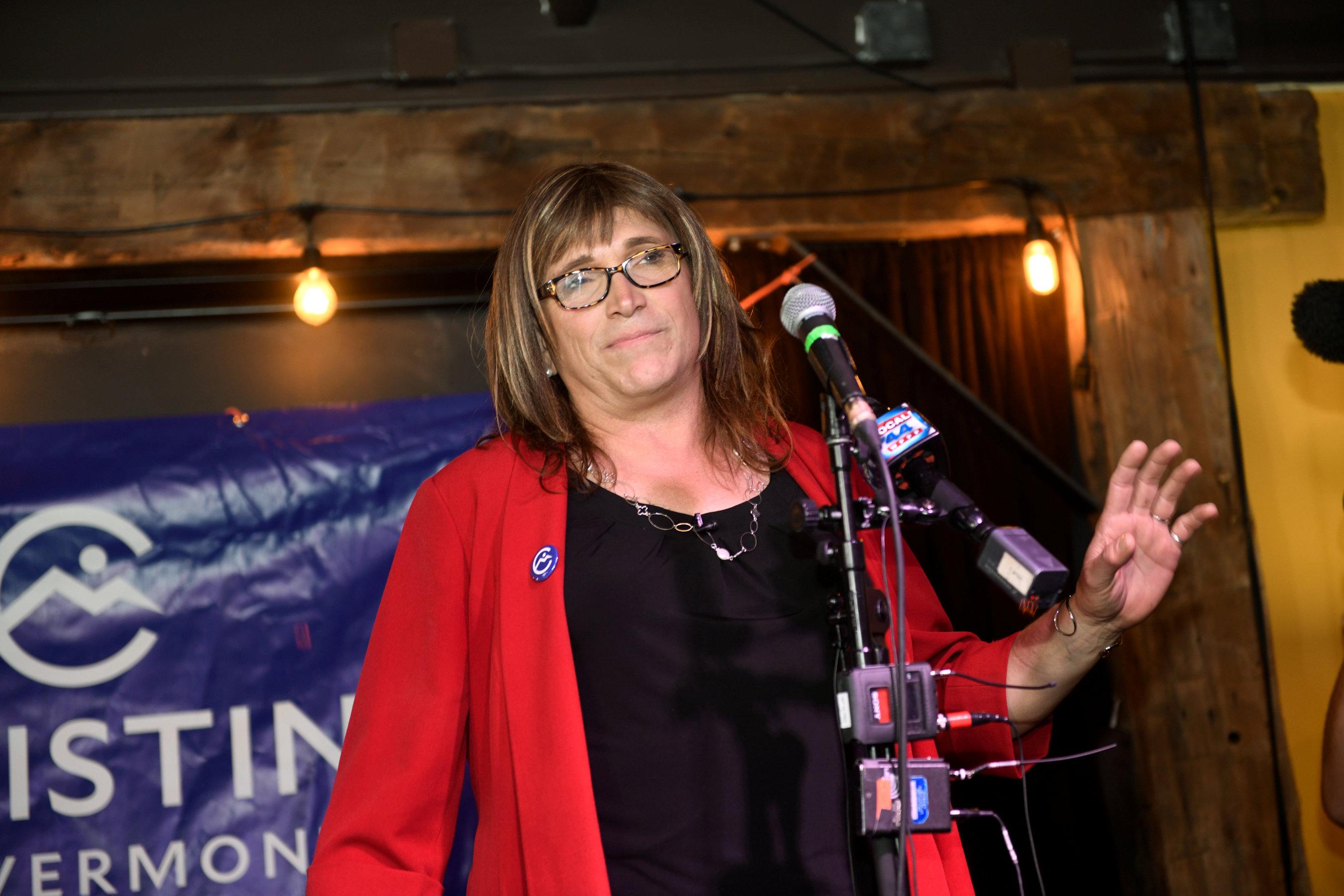 Christine, la primera candidata trans a la gobernación en Estados Unidos
