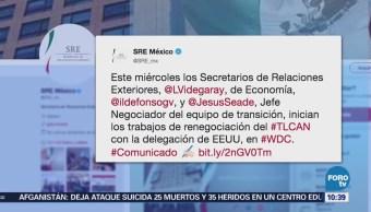 Videgaray, Guajardo y Seade inician trabajos para la renego
