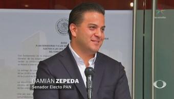 Zepeda niega autonombramiento como coordinador del PAN