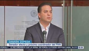 Zepeda rechaza haberse autonombrado coordinador del PAN