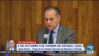 2 de octubre fue crimen de estado CEAV