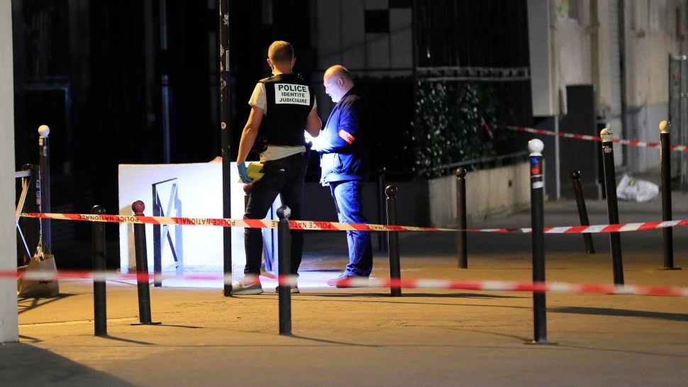 hombre armado cuchillo heridos paris heridos