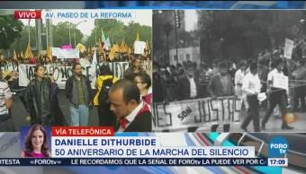 50 aniversario de la Marcha del Silencio