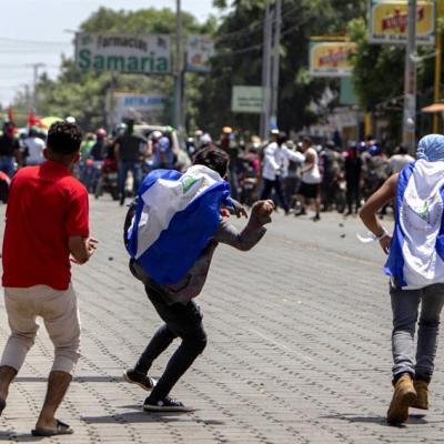 Jornada violenta en Nicaragua causa 1 muerto y 5 heridos