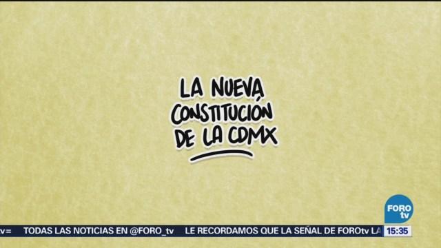 El ABC Nueva Constitución CDMX