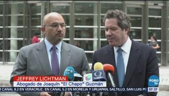 Abogado Jeffrey Lichtman defenderá a Chapo en NY