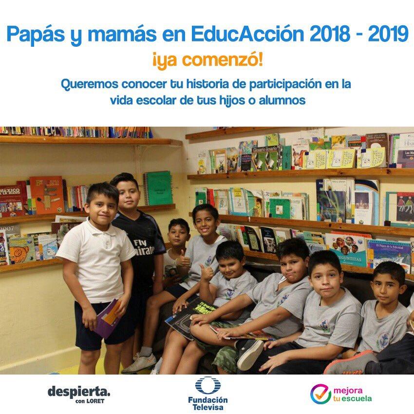 Abren convocatoria Papás y Mamás en Educacción
