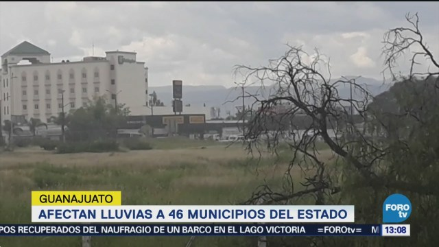 Afectan Lluvias Municipios Guanajuato Inundaciones Afectaciones