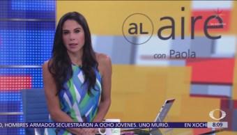 Al Aire con Paola Rojas Programa del 18 de septiembre